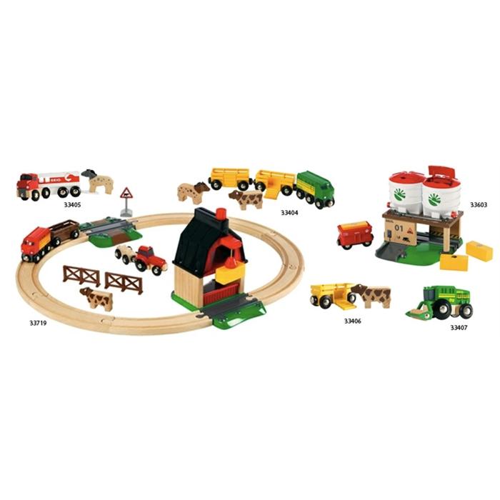 BRIO Çiftlik Tren Yolu Seti