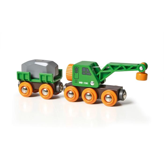 BRIO Crane Wagon