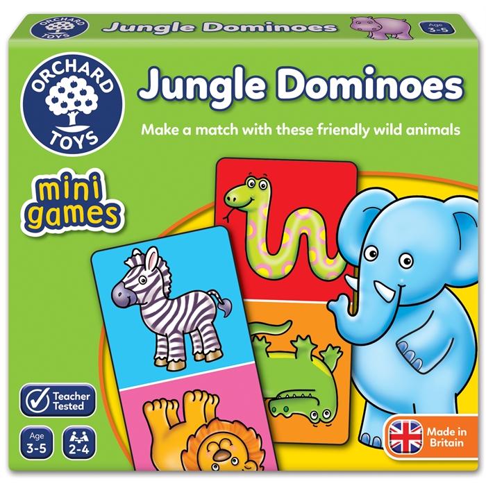 Orchard Jungle Dominoes (Vahşi Hayvanlar Mini Domino)
