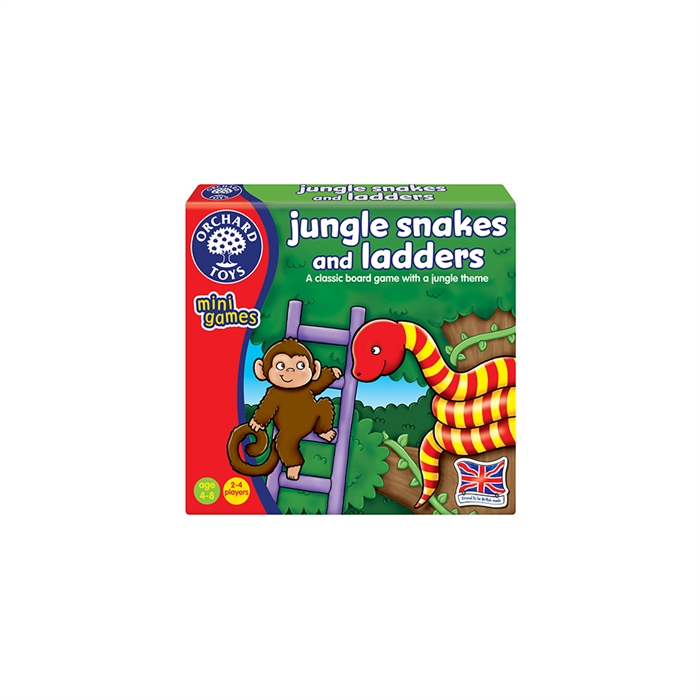 Orchard Jungle Snakes & Ladders (Sevimli Yılan & Merdiven - Sayılar)