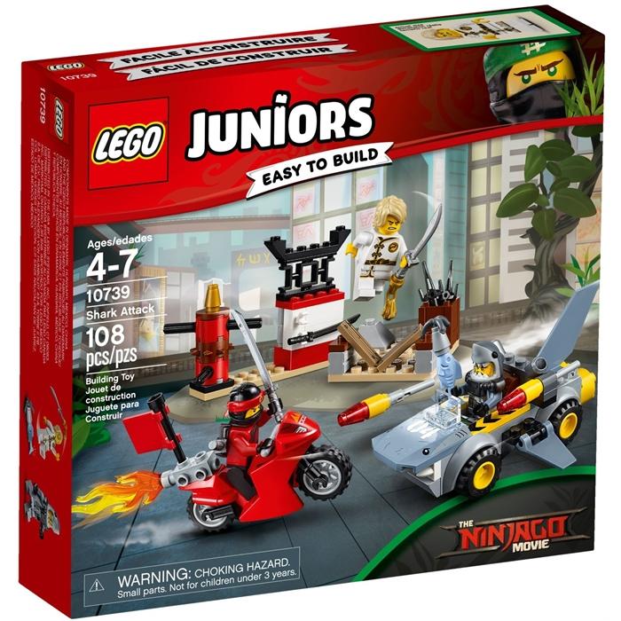 Lego 10739 Juniors Shark Attack