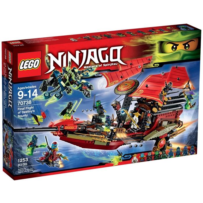Lego 70738 Ninjago Final Flight of Destinys Bounty