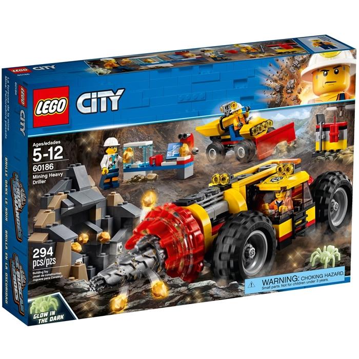 Lego 60186 City Mining Heavy Driller