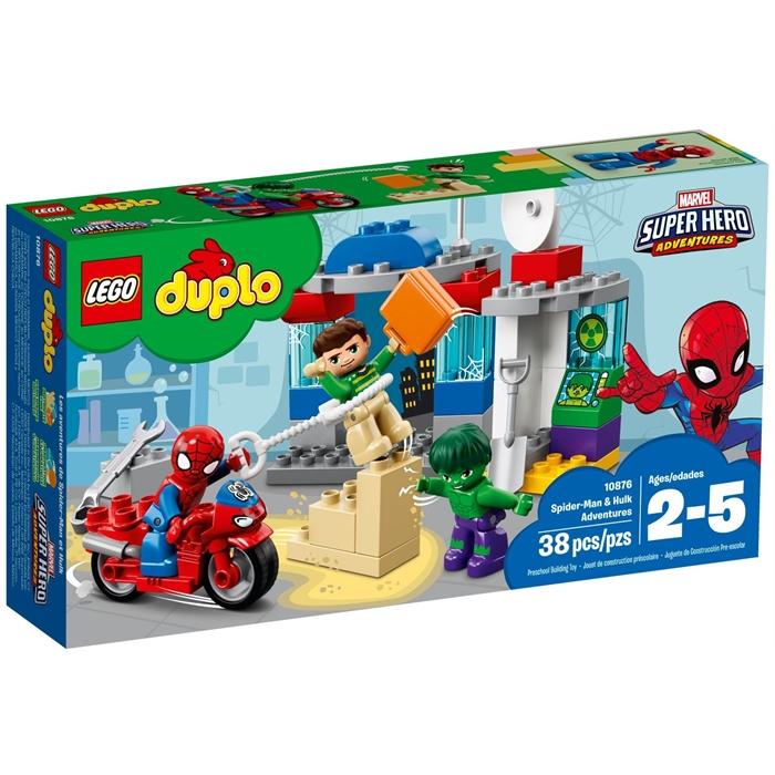 Lego Duplo 10876 Spiderman & Hulk