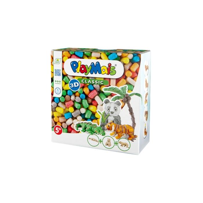 PlayMais Classic 3D Wild Animals