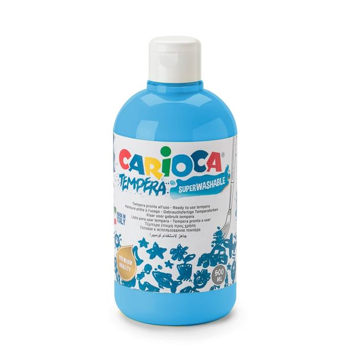 Carioca Tempera Boya (Süper Yıkanabilir) 500ml - Mavi