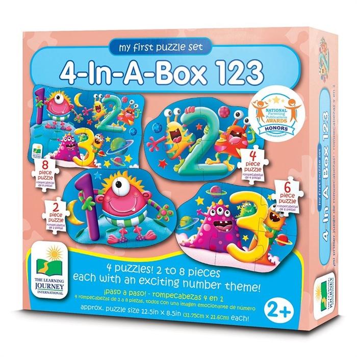 The Learning Journey 4 Puzzle Bir Arada - 123