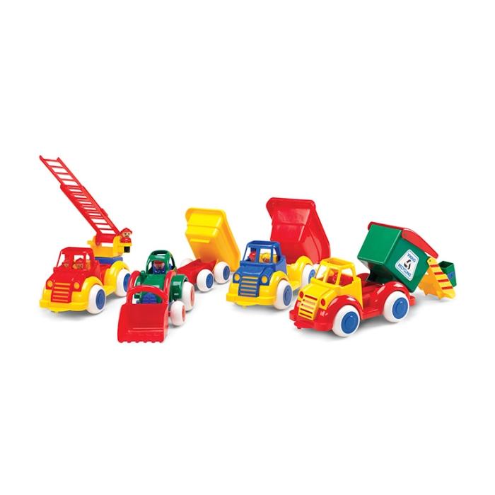 Viking Toys İnşaat Taşıtları 5 Parça