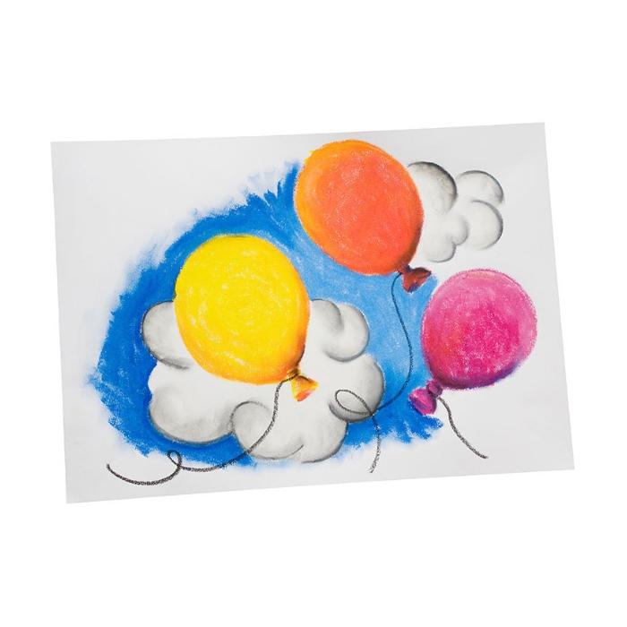 Creall Üç Özellikli İpeksi Pastel Boya 12'li Set