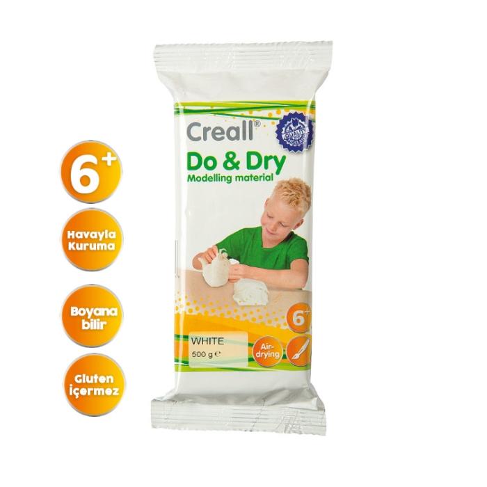 Creall Do&Dry 500gr Beyaz