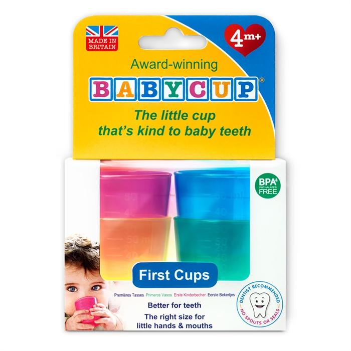 Babycup İlk Bardaklar (4'lü)