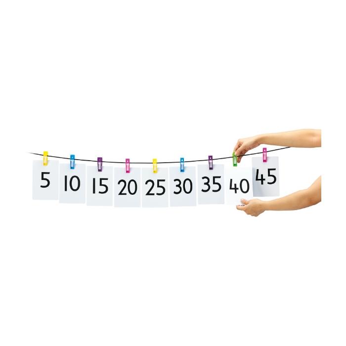 EDX Peg Number Line