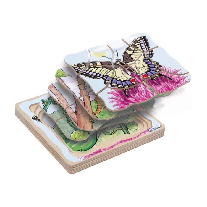Beleduc Oluşum Puzzle - Kelebek