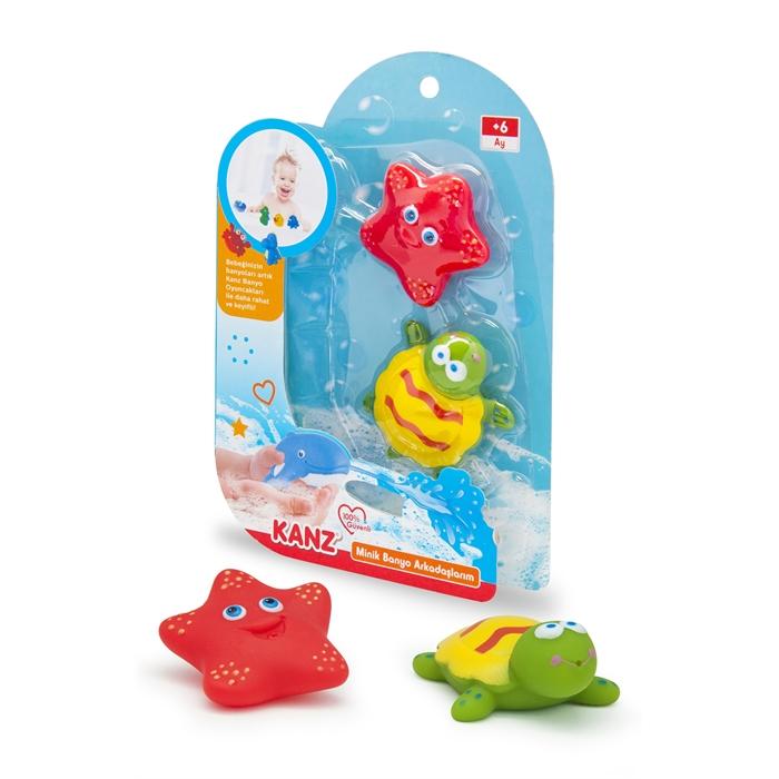 Kanz Minik Banyo Arkadaşlarım Deniz Yıldızı - Kaplumbağa