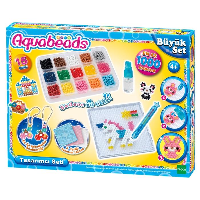 Aqua Beads Tasarımcı Boncuk Seti