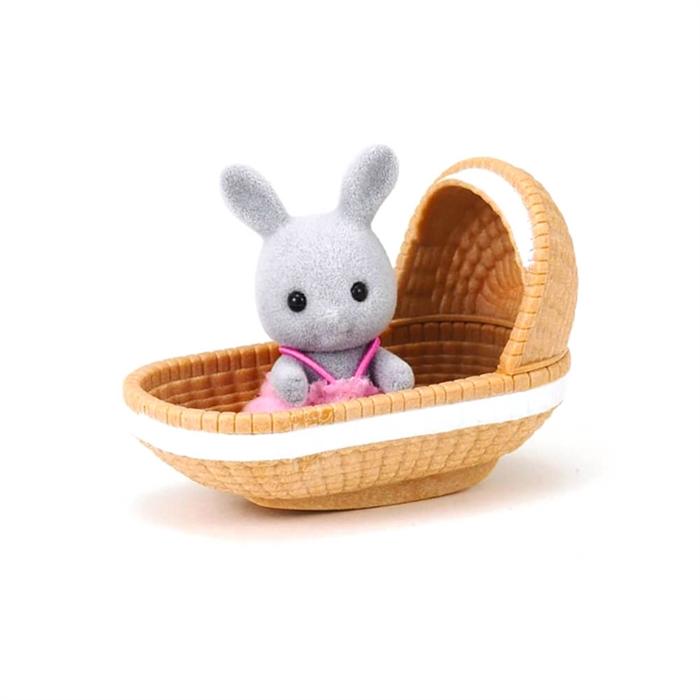 Sylvanian Families Bebek Tavşan ve Beşiği 4558