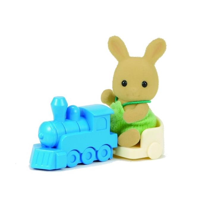 Sylvanian Families Kahverengi Bebek Tavşan ve Treni 5134
