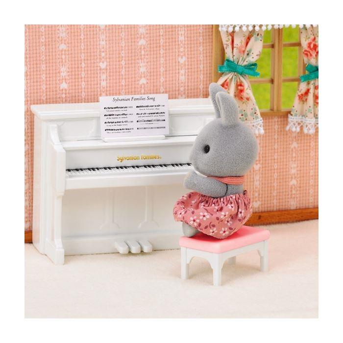 Sylvanian Families Tavşan Kız Kardeş ve Piyano 5139