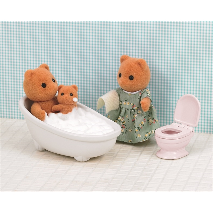 Sylvanian Families Banyo ve Tuvalet Seti 5148