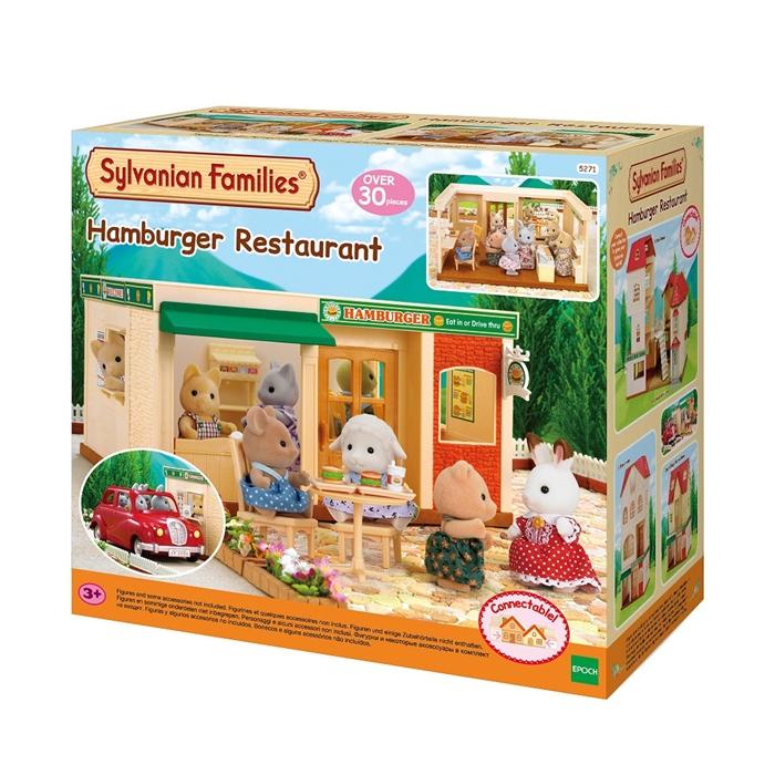 Sylvanian Families Hamburger Restaurantı 5271