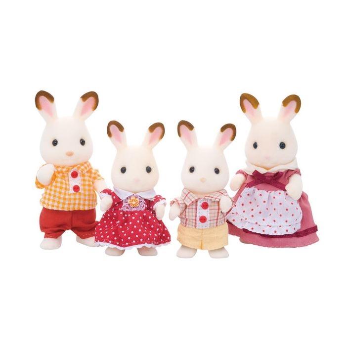 Sylvanian Families Çikolata Kulaklı Tavşan Ailesi  4150