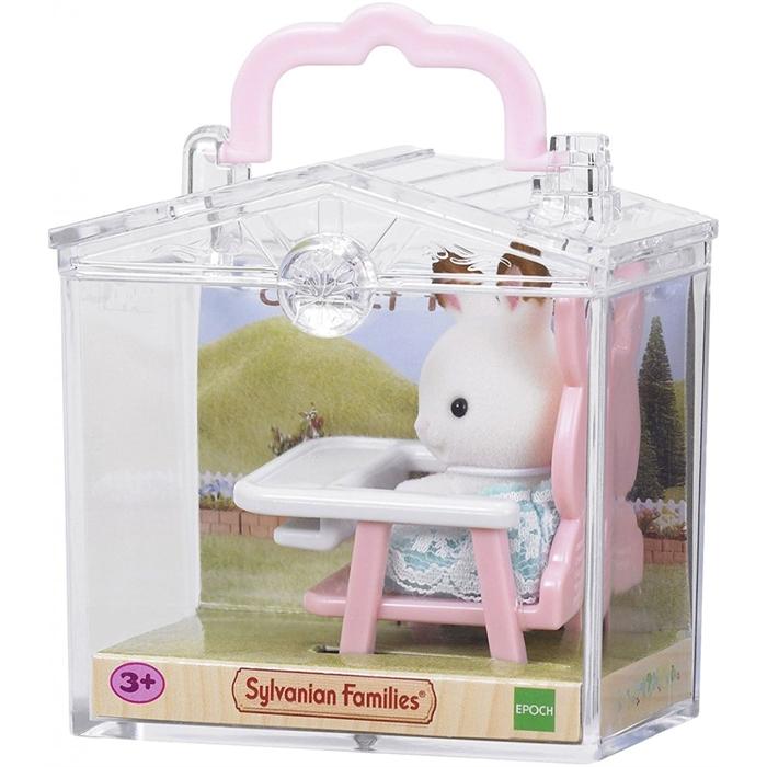 Sylvanian Families Bebek Tavşan ve Mama Sandalyesi 5197