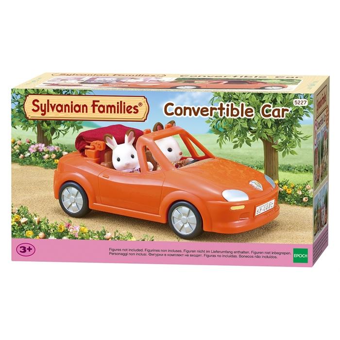 Sylvanian Families Spor Araba Üstü Açılabilen 5227