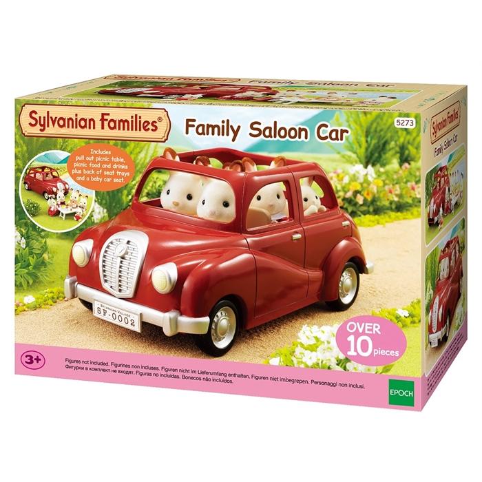 Sylvanian Families Kırmızı Aile Arabası 5273