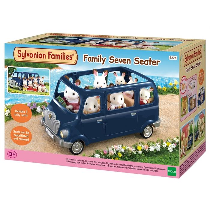 Sylvanian Families Mavi Aile Arabası 5274