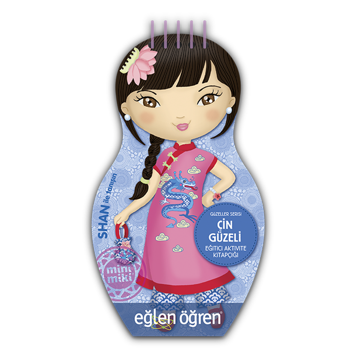 Eğlen Öğren Güzeller Serisi Çin Güzeli