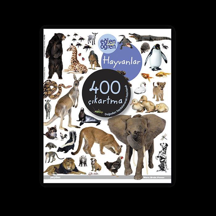 Eğlen Öğren Hayvanlar Çıkartma Kitabı