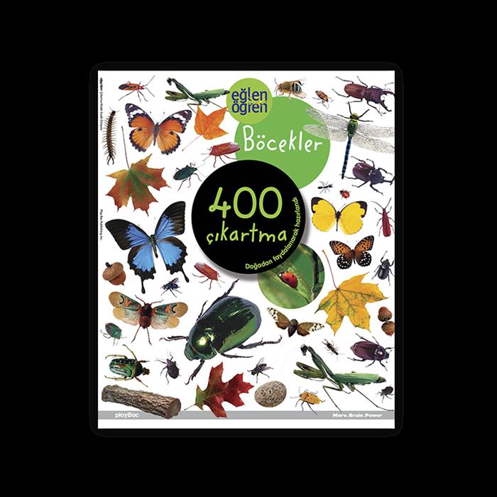 Eğlen Öğren Böcekler Çıkartma Kitabı