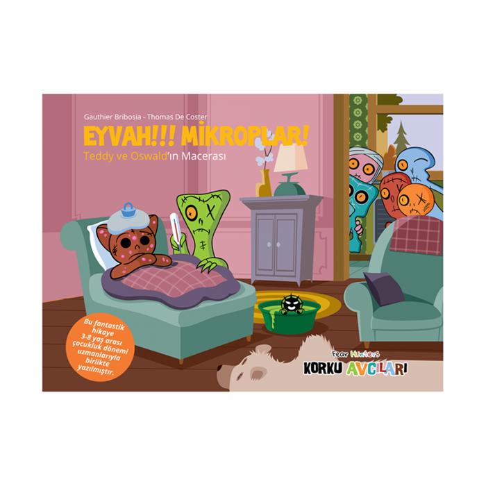 Eğlen Öğren Korku Avcıları Eyvah Mikroplar