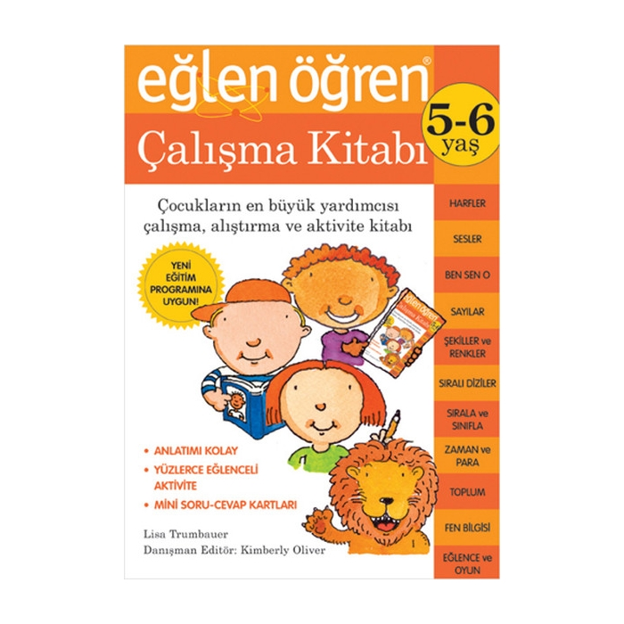 Eğlen Öğren 5-6 Yaş Çalışma Kitabı