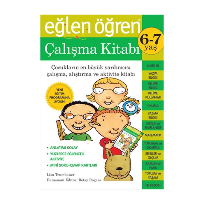 Eğlen Öğren 6-7 Yaş Çalışma Kitabı