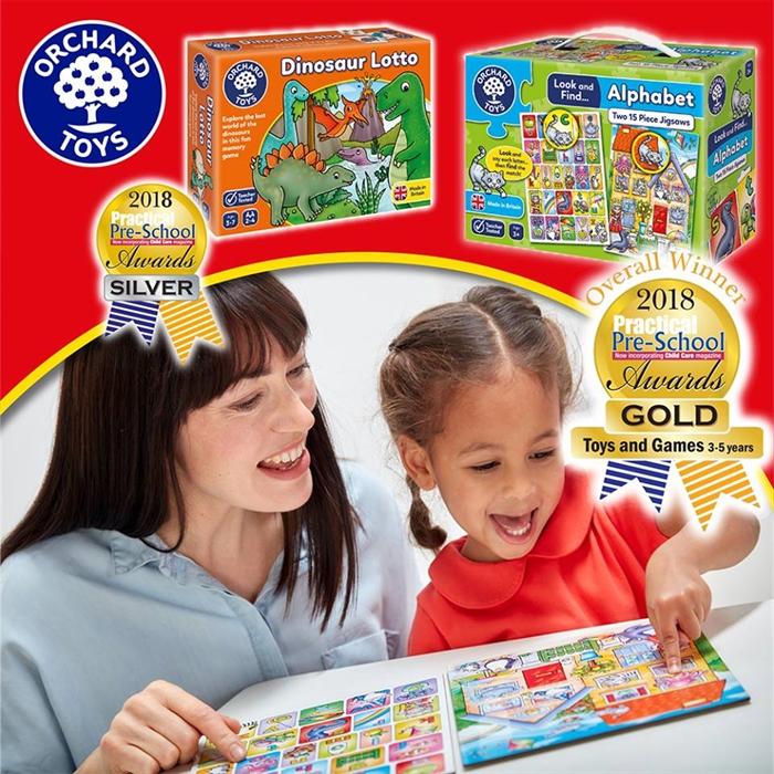 Orchard Look & Find Puzzles - Alphabet (Bak ve Bul Alfabe)
