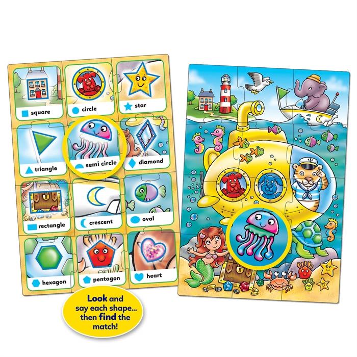 Orchard Look & Find Puzzles - Shape (Bak ve Bul Şekiller)