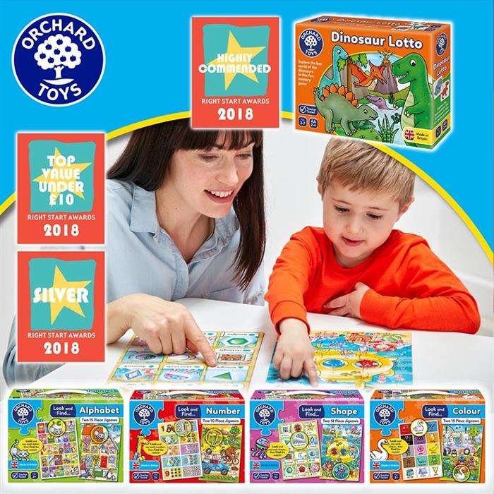 Orchard Look & Find Puzzles - Colour (Bak ve Bul Renkler)