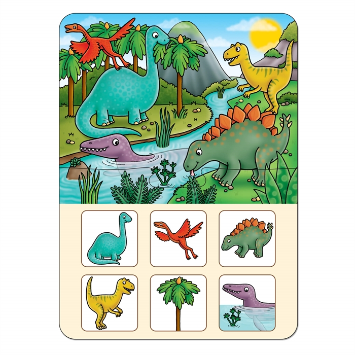 Orchard Dinosaur Lotto (Dinozor Tombala)