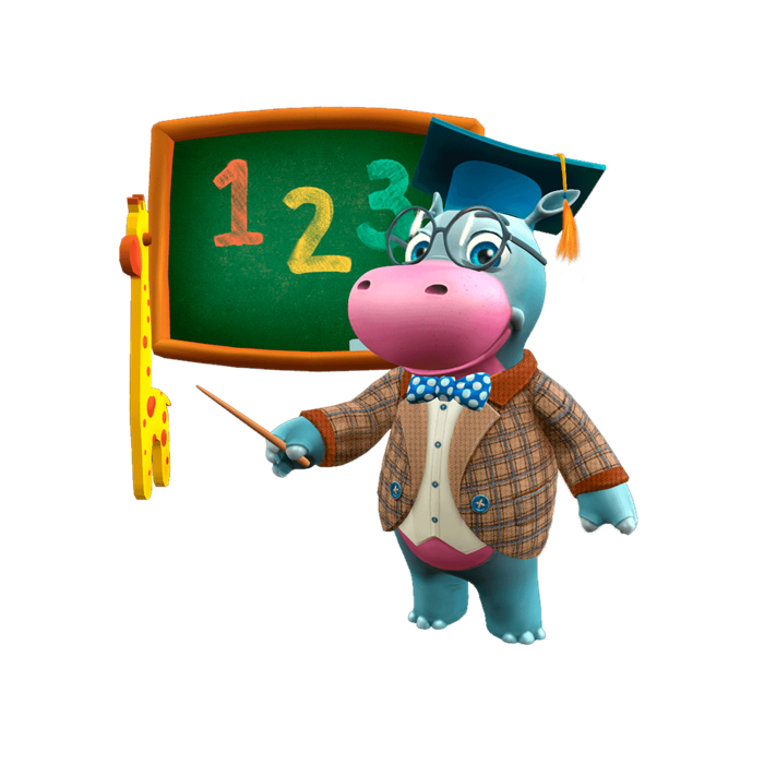 Little Hippo Let's Learn: Counting (İngilizce)