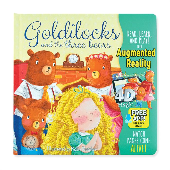 Little Hippo Goldilocks and The Three Bears (İngilizce)