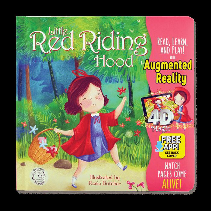 Little Hippo Little Red Riding Hood (İngilizce)