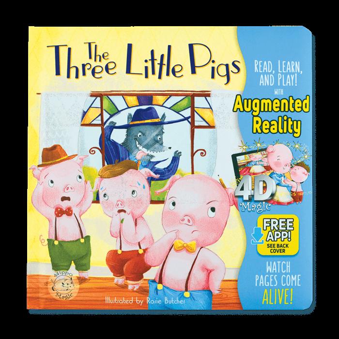Little Hippo Three Little Pigs (İngilizce)