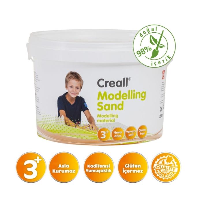 Creall Kinetik Modelleme Kumu 750gr Naturel
