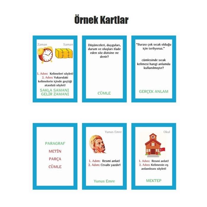 DİLBU Türkçe Mini - 5. Sınıf - Türkçe Dersi Oyunu
