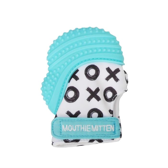 Mouthie Mitten Diş Kaşıyıcı Eldiven - Mavi XO