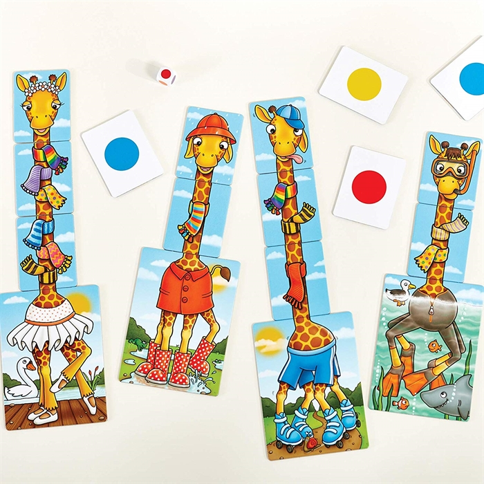 Orchard Giraffes in Scarves