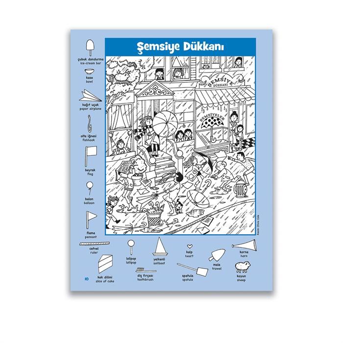 Jumbo Kitap Hidden Pictures Dikkat Geliştirme Serisi