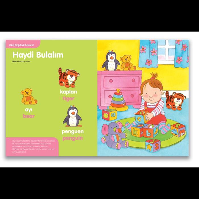 Hello, İlk Eğitici Kitaplarım Serisi (12 Kitap)