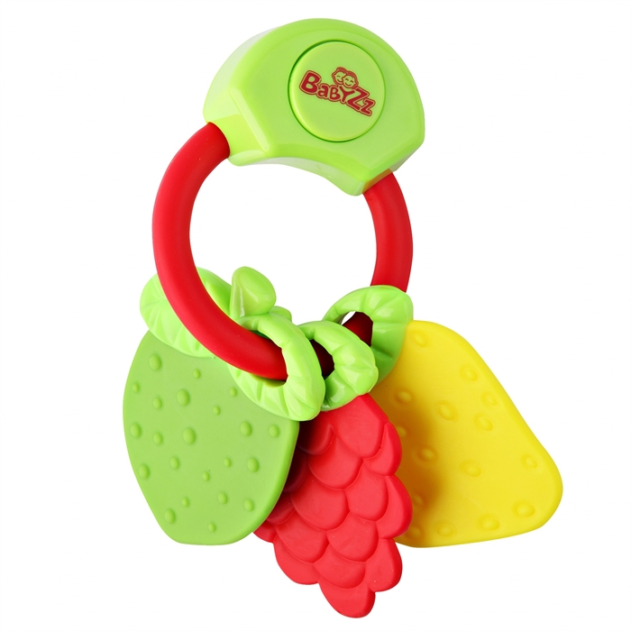 Kanz Babyzz Renkli Müzikli Meyve Dişlik